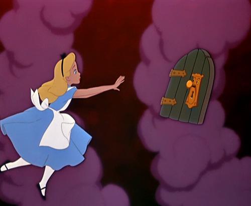 Alice au pays des merveilles walt disney - Alice au pays des merveilles lapin en retard ...